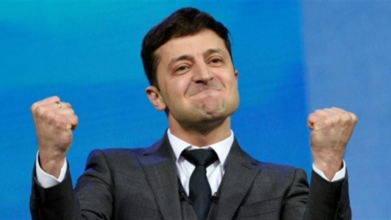 Украинадағы сайлау: Зеленский жеңіске жетті