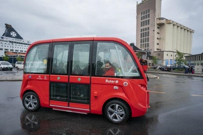 Жүргізушісіз электр автобусы іске қосылды