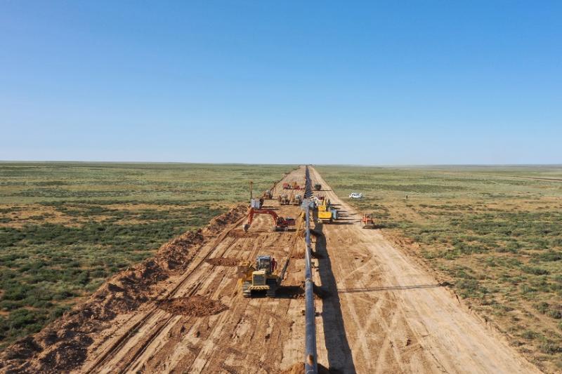 «Сарыарқа» газ құбыры: Қызылордадағы жұмыстар толық аяқталды