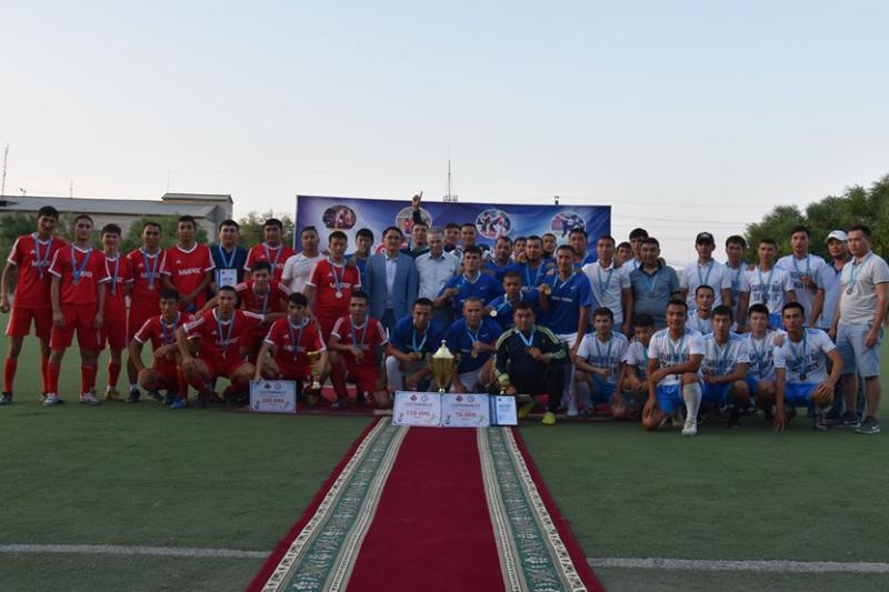 Қазалыда футболдан үшінші аудан біріншілігі аяқталды (ФОТО)