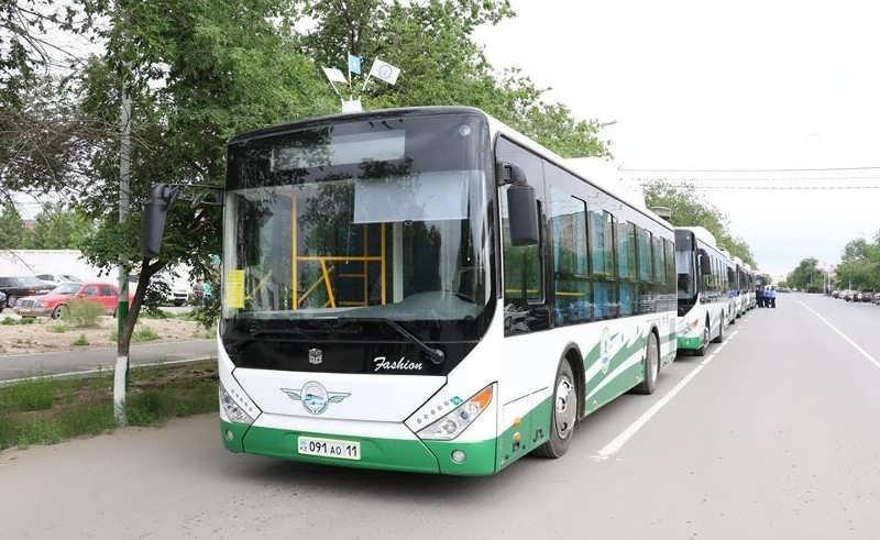 Қызылордада 6800 оқушы автобуста тегін қатынау құқығына ие болды