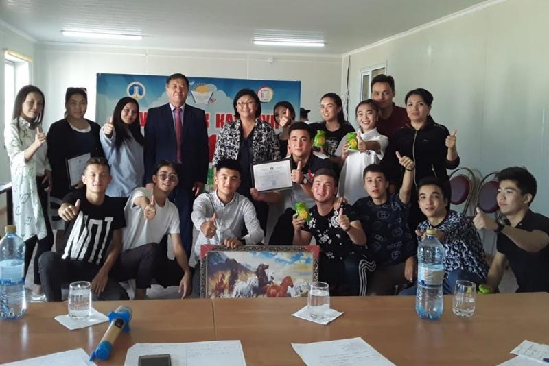 Белсенді студенттер Аралдағы жазғы лагерьде бас қосты (ФОТО)