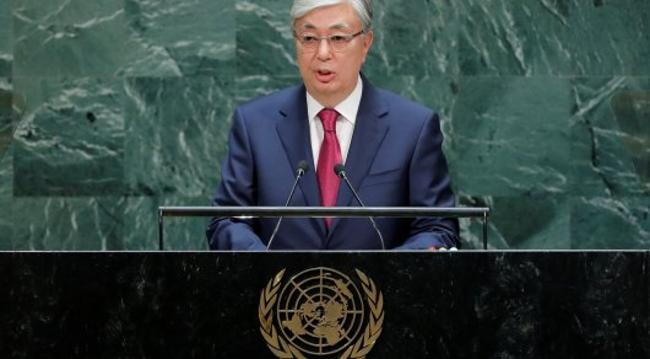 Қасым-Жомарт Тоқаев БҰҰ Бас Ассамблеясының Жалпы дебаттарында сөз сөйледі