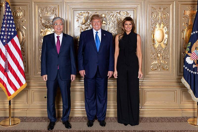Қасым-Жомарт Тоқаев АҚШ Президенті Дональд Трамппен кездесті