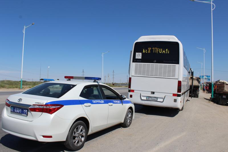 Қызылордада 137 автобус жүргізушісі жауапкершілікке тартылды