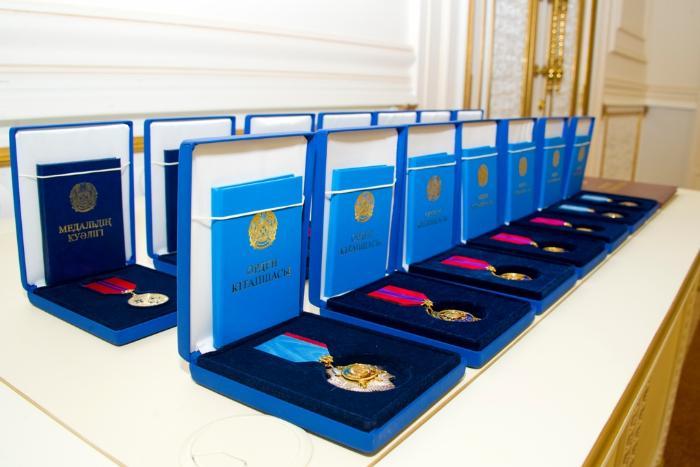 Елімізде мемлекеттік наградалар саны қысқарады