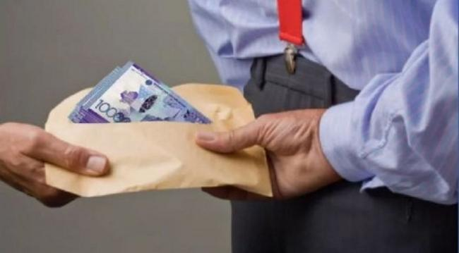 Енді параның 10 пайызы жемқор туралы ақпарат берген адамға төленбек