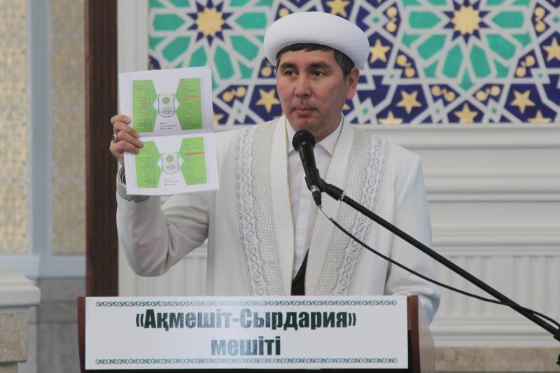 Болатбек Абуов: Діни рәсімдерді кез келген адамның атқаруға құқы жоқ (ФОТО)