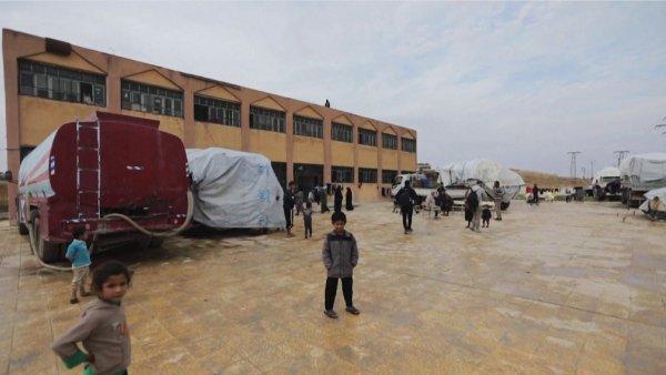 Сириядағы лагерьлерде қанша бала өмір сүріп жатыр?